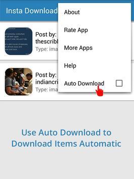 Insta Photo and Video Download screenshot 1