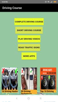 Learn Driving a car in 3 days - Driving Course poster