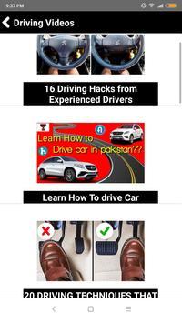 Learn Driving Course in Urdu screenshot 2