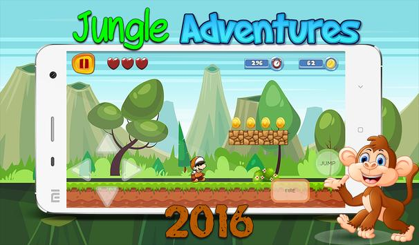Jungle Adventures 2016 poster
