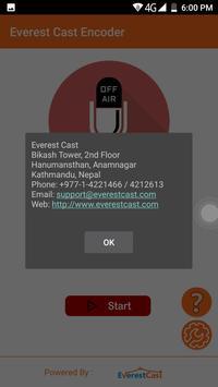 Everest Cast Encoder apk screenshot