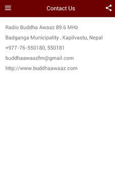 Radio Buddha Aawaz apk screenshot