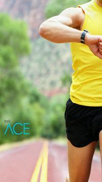 Itek Ace- Track Fitness, Sleep पोस्टर