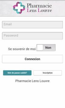 Pharmacie Lens Louvre poster