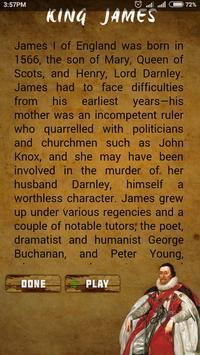 THE HOLY BIBLE KING JAMES screenshot 1