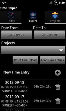 Time Helper apk screenshot