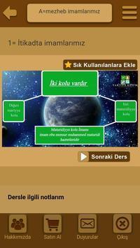 Görsel itikad dersleri apk screenshot