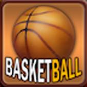 Passionate basketball icon