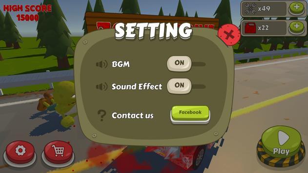 Zombie Drive apk screenshot