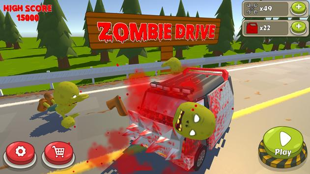 Zombie Drive poster