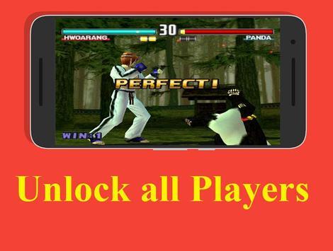 new Tekken 3 cheat screenshot 1