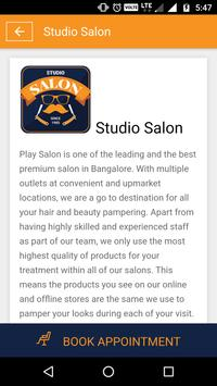 Studio Salon apk screenshot