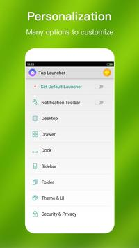 iTop Launcher - Top, Modern apk screenshot