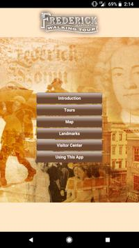 Frederick Walking Tour poster