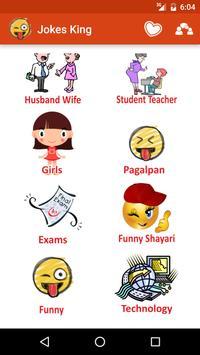 Jokes king Hindi Jokes poster