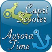 Capri Scooter and Aurora Time icon