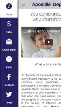 Apostille Depot apk screenshot