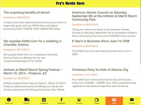 Fry's Kettle Corn apk screenshot