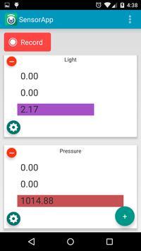 SensorApp apk screenshot