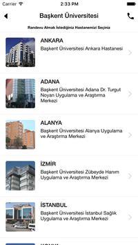 Başkent Üniversitesi Hastanesi screenshot 2