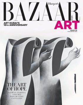 Harpers Bazaar Art poster