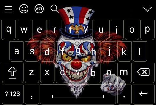IT Pennywise Keyboard Emoji screenshot 7