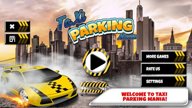 Taxi Parking Mania poster