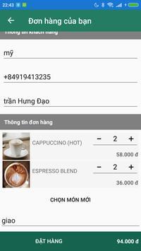 YouMe Coffee&Tea Delivery screenshot 2