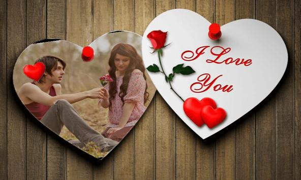 Romantic Love Photo Frames 3D screenshot 1