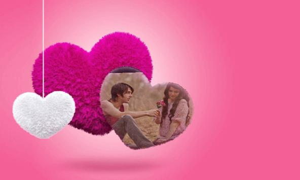 Romantic Love Photo Frames 3D screenshot 2