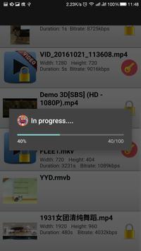 VideoLocker apk screenshot