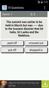 ESL Vocab Quiz - GrammarBank screenshot 18