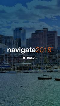 Navigate 2018, by Continuum poster