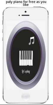 play Piano phone Poster