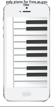 play Piano phone captura de pantalla 1