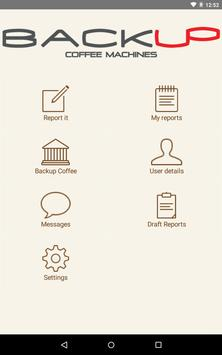 Backup Coffee and Service screenshot 2