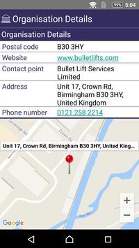 Bullet Lifts Services apk screenshot