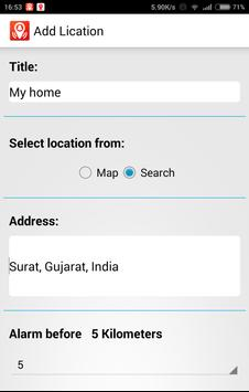 GPS LocationAlert poster