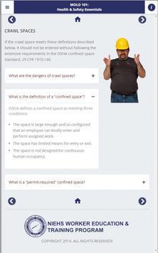 Mold 101: Health & Safety App screenshot 9