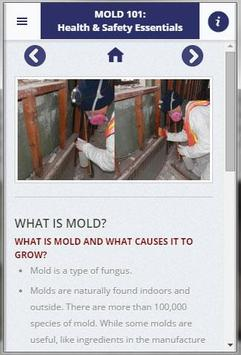 Mold 101: Health & Safety App poster