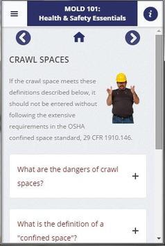 Mold 101: Health & Safety App screenshot 2