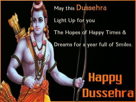 Happy Dussehra poster