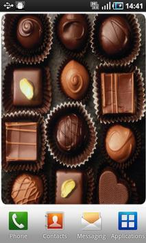 ChocolateLiveWallpaper screenshot 1