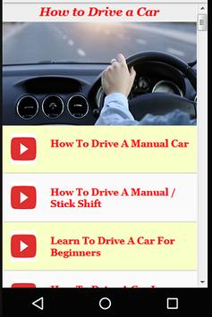 Guide for How to Drive a Car screenshot 1