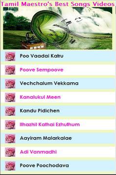 Tamil Maestro's Songs Videos screenshot 6