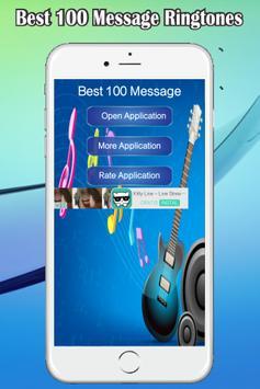 Best 100 Message Ringtones poster