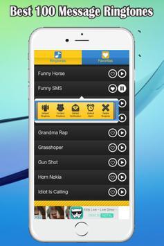 Best 100 Message Ringtones screenshot 2