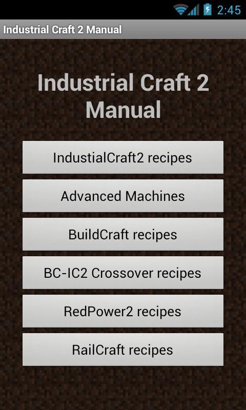 Tekkit Manual for Android - APK Download