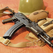 AK 47 Guns Wallpaper APK