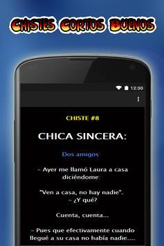 Chistes Cortos Buenos apk screenshot